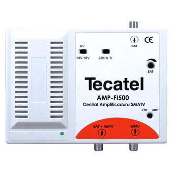 AMPLIFICADOR CENTRAL FI TV SATELITE 35DB TECATEL