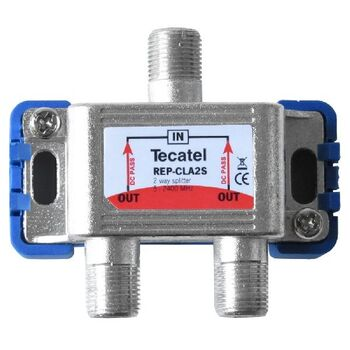 SPLITTER TV-SAT TECATEL 1 ENTRADA 2 SALIDAS