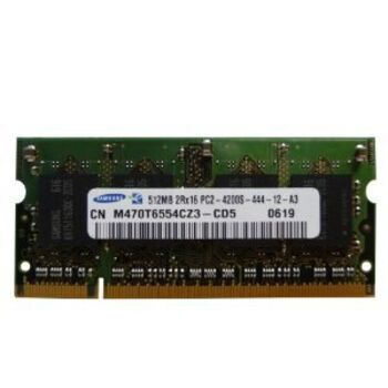 OUTLET - MEMORIA SODIMM 256MB SAMSUNG PC2-4200S