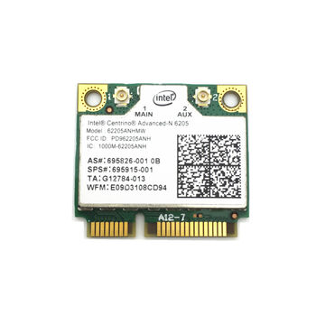 INTEL CENTRINO ADVANCED-N 6205 MINI PCIE DUAL BAND