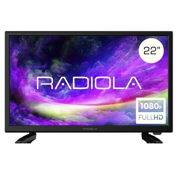 "TV LED 22"" RADIOLA FULL HD 1920X1080 HDMI 12V"