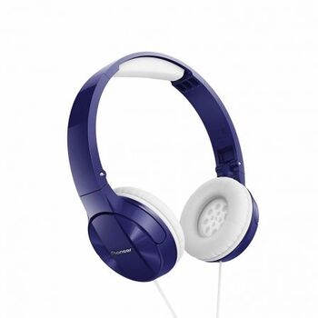 AURICULARES PIONEER PURE SOUND SE-MJ503-L AZULES