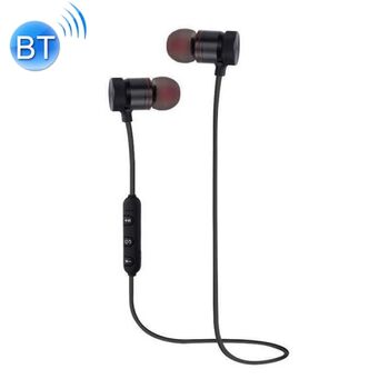 AURICULARES MAGNETICO SPORT BLUETOOTH STEREO NEGRO