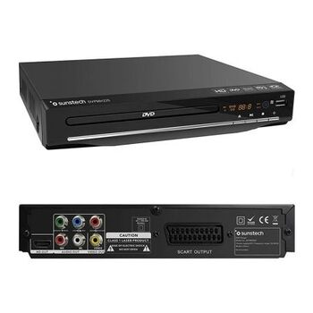 REPRODUCTOR DVD SUNSTECH DVPMH225BK HDMI USB