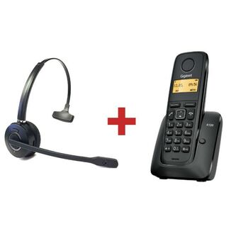 TELEFONO DECT GIGASET A120 + AUDICULARES HW10