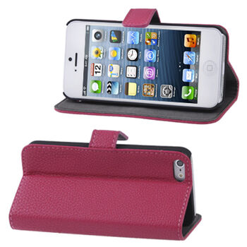 FUNDA PROTECTORA IPHONE 5 MAGENTA