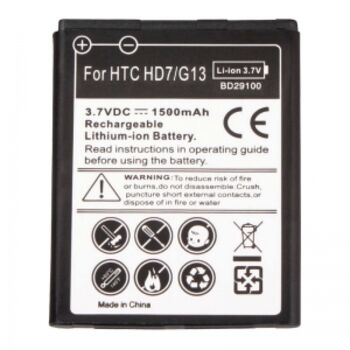 BATERIA MOVIL HTC WILDFIRE S HD7 G13 BD29100 1500M