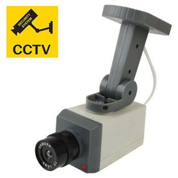 CAMARA SIMULADA SATYCON CCTV COLOR BLANCO