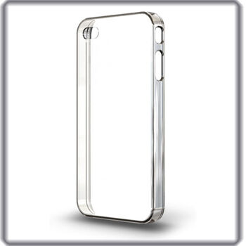 FUNDA TRANSPARENTE PARA IPHONE 4