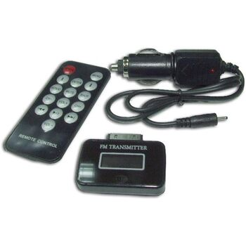 EMISOR FM INALAMBRICO+MANDO IPHONE IPOD IPAD