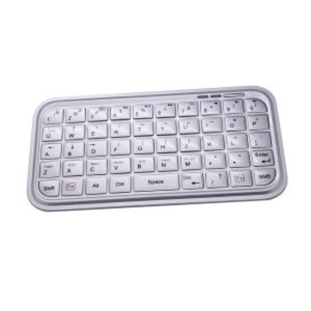 TECLADO BLUETOOTH IPAD / IPHONE / ANDROID BLANCO 2