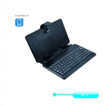 FUNDA CON TECLADO TABLET 6