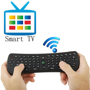 TECLADO INALAMBRICO AIR MOUSE ANDROID TV USB
