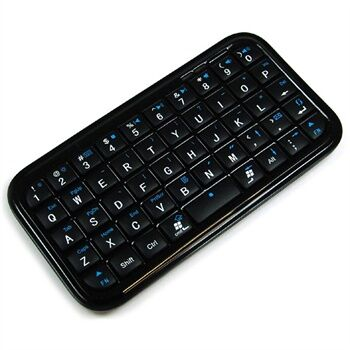 TECLADO BLUETOOTH IPAD / IPHONE / ANDROID NEGRO V3