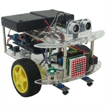 KIT ROBOT EDUCATIVO ARDUINO 30PCS FRANK-1