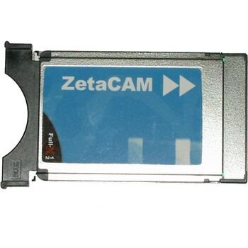 PCMCIA SATELITE CAM ZETA BLUE VIACCESS