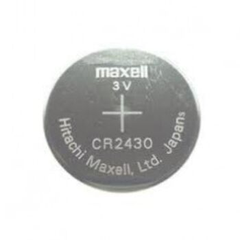 PILA MAXELL CR2430 3V LITHIUM BATTERY