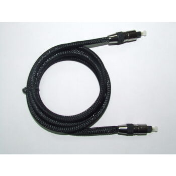 CABLE FIBRA OPTICA TOSLINK 2M ~ 5.0MM PROFESIONAL
