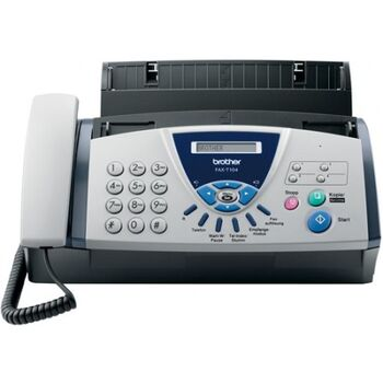 FAX BROTHER T104 TRANSFERENCIA TERMICA