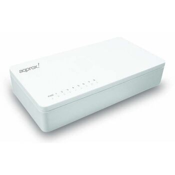 SWITCH 8 PUERTOS NET-1008A BLANCO