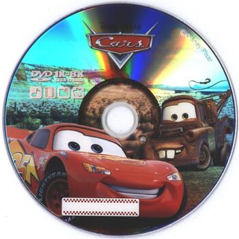 DVD-R 8X VIRGEN DISNEY CARS 4.7GB TARRINA 10U