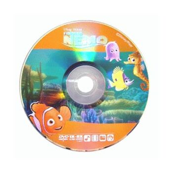 DVD-R 8X VIRGEN DISNEY NEMO 4.7GB TARRINA 10U