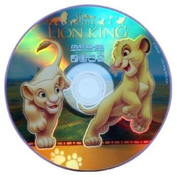 DVD-R 8X VIRGEN DISNEY REY LEON 4.7GB TARRINA 10U
