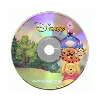 CD-R 52X VIRGEN DISNEY WINNEI 700MB TARRINA 10U