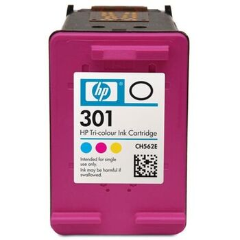 TINTA COLOR HP Nº. 301 ORIGINAL CH562EE