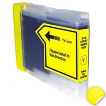 TINTA AMARILLO BROTHER LC980 RECICLADA