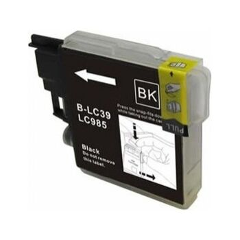 TINTA NEGRA BROTHER LC985 RECICLADA