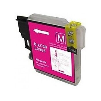 TINTA MAGENTA BROTHER LC985 RECICLADA