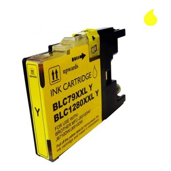 TINTA BROTHER LC1220/1240 XL AMARILLO RECICLADA