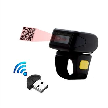 LECTOR BARRAS BT ESCANER ANILLO BLUETOOTH 1D 2D