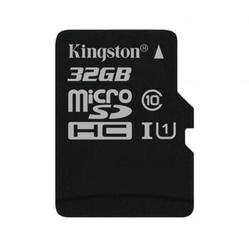 MEMORIA MICROSDHC C10 32GB KINGSTON + ADAPTADOR