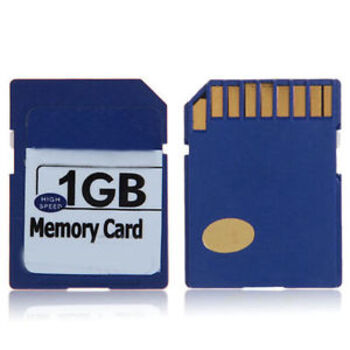 MEMORIA SD 1GB BLUE