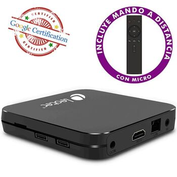 ANDROID TV BOX LEOTEC GCX2 UHD 4K QC 4GB 32GB A9