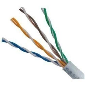 2X CABLE RED RJ45 CAT5E UTP POR METROS