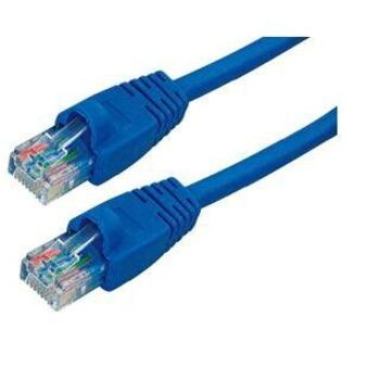 CABLE RED UTP RJ45 CAT6E 0.25M 25CM SATYCON AZUL