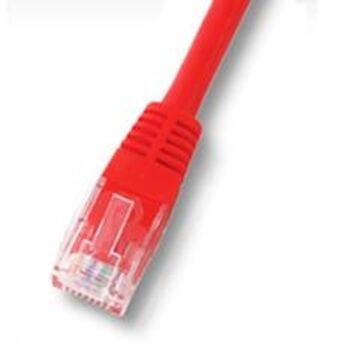 CABLE RED FTP APANTALLADO RJ45 CAT6 1M ROJO