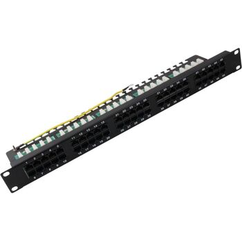 PATCH PANEL PARCHEO 50P ISDN-VOZ CAT3