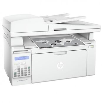 IMPRESORA MULTIFUNCION HP LASER PRO M130FN FAX RED