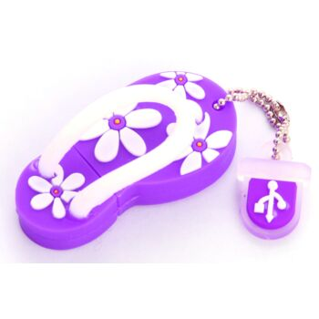 PENDRIVE USB2.0 32GB SATYCON CHANCLA MORADA M.1351