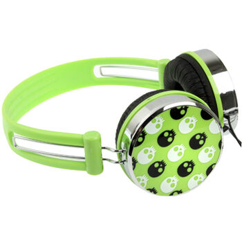 Z-OUTLET AURICULARES ACOLCHAD STEREO VERDE-CALAVER