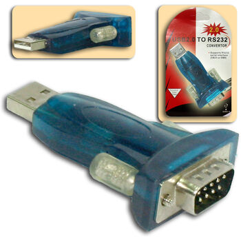 ADAPTADOR USB2.0 A SERIE RS-232 SATYCON W10