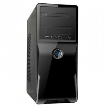CAJA PC ATX SATYCON 2802BS NEGRA 600W