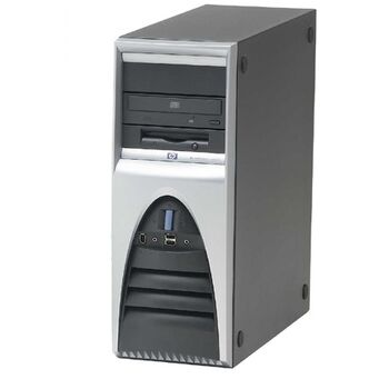 ORD. HP WORKSTATION XW6000 XEON 2GB 500GB DVD