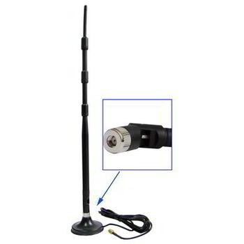 ANTENA WIFI OMNI SMA 13 DB+BASE SATYCON