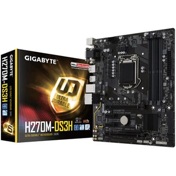 PLACA BASE GIGABYTE H270M-DS3H ATX S1151 4X DDR4
