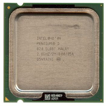 CPU INTEL S775 D820 REACONDICIONADO SIN DISIPADOR